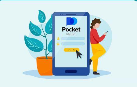 Come registrarsi e accedere al conto in Pocket Option Broker Trading
