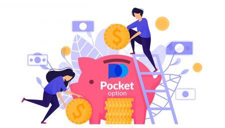 Come prelevare ed effettuare un deposito in Pocket Option