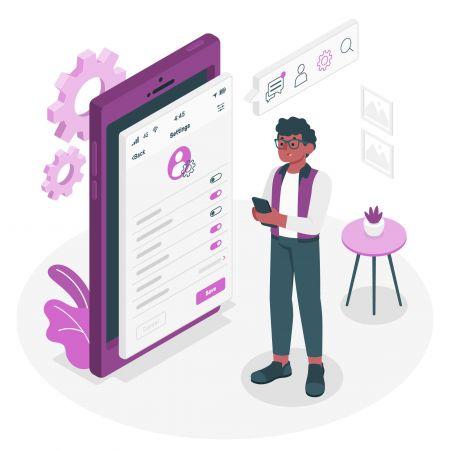 come utilizzare le impostazioni del profilo in Pocket Option